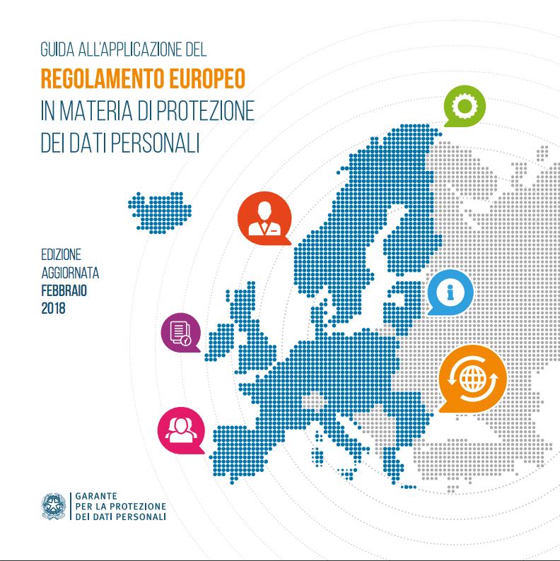 GPDR Guida Regolamento Europeo PDF